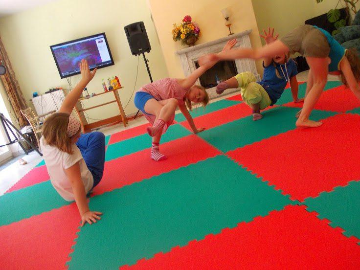 zielone szkoły świętokrzyskie ćwiczenia dzieci