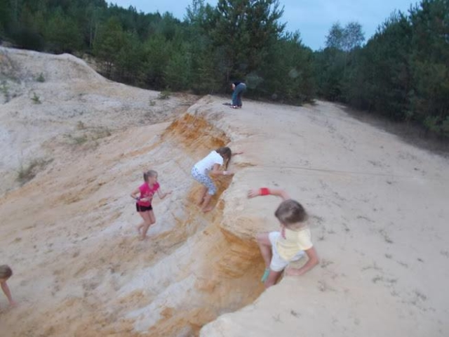 zielone szkoły piaskownica